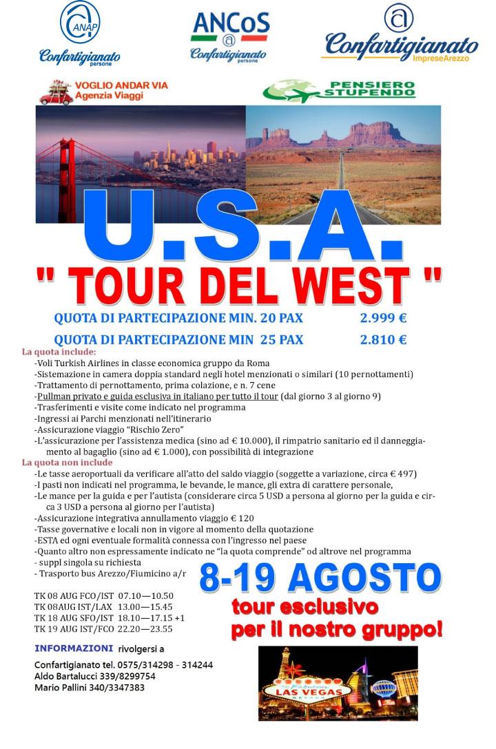 Tour del west