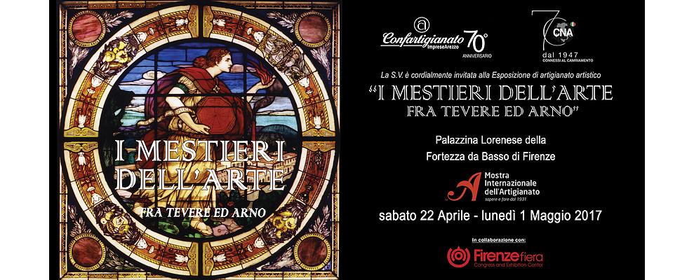 I Mestieri dell'Arte fra Tevere ed Arno sbarcano a Fortezza da Basso
