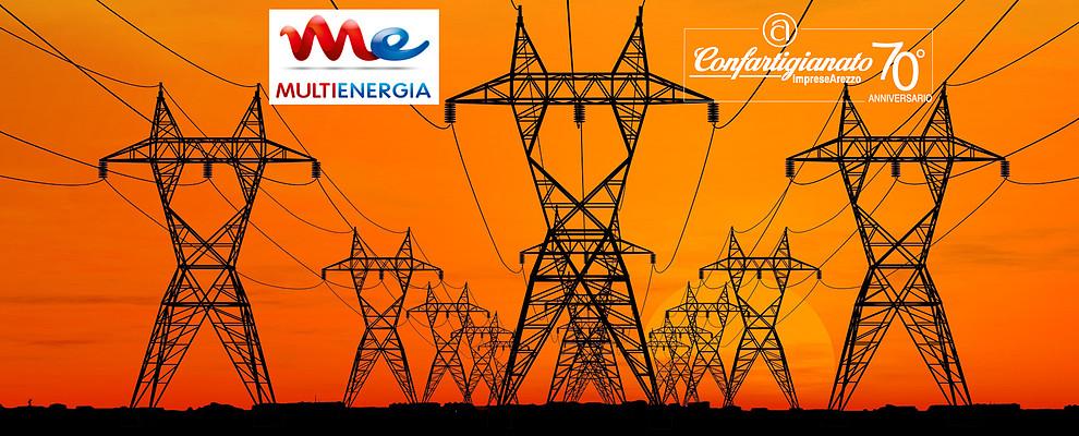 Risparmia in Bolletta Luce e Gas con MULTIENERGIA