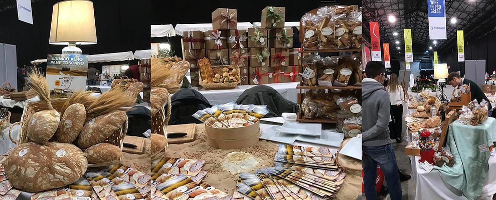 Food&Wine. Il Pane Toscano DOP conquista la Leopolda