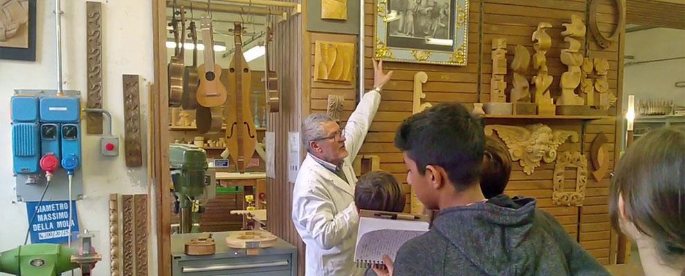 Confartigianato e Liceo Artistico di Anghiari formano gli artigiani del futuro