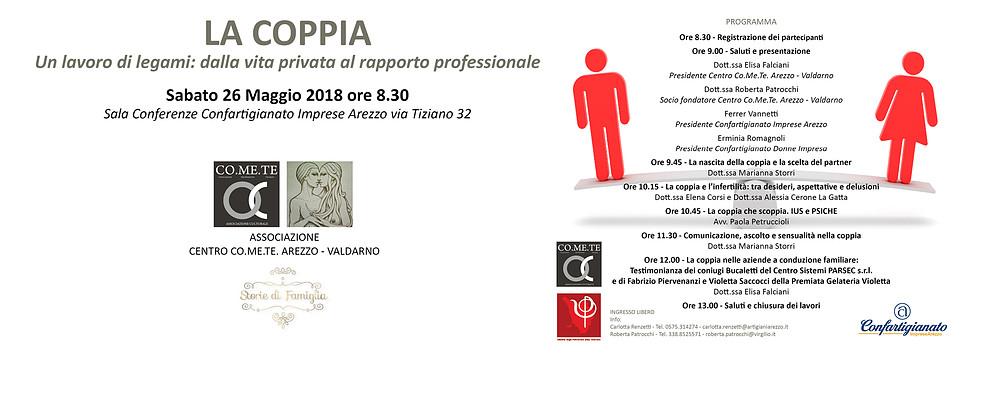 Confartigianato e Psicologi in aiuto della Coppia nella vita privata e nel lavoro