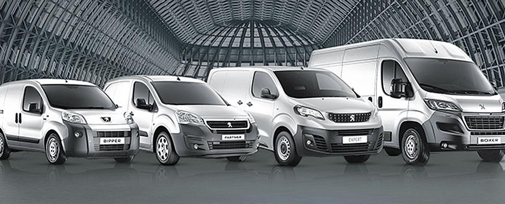 Promozione veicoli commerciali Peugeot
