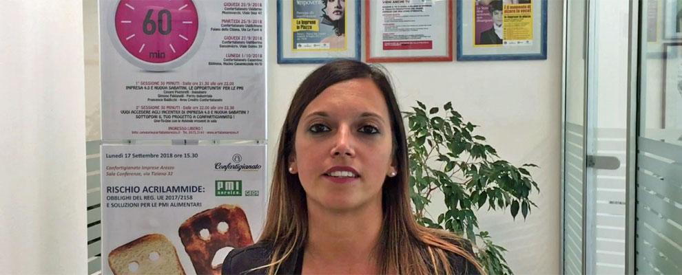 Impresa 4.0 e Nuova Sabatini. Francesca Baldicchi presenta gli incontri di 60 Minuti di...