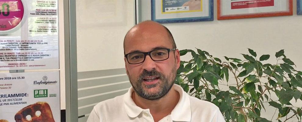 Impresa 4.0 e Nuova Sabatini. Cesare Pastorelli presenta gli incontri di 60 Minuti di...