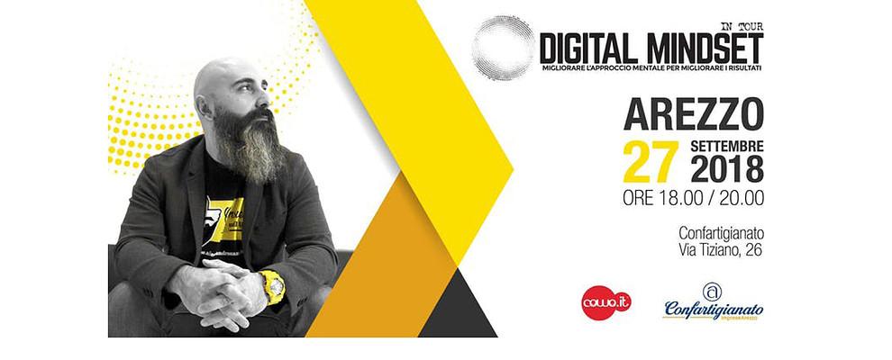 Digital Mindset. Al Coworking di Confartigianato arriva Alessandro Mazzù