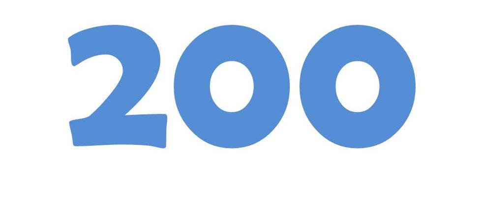 La Newsletter settimanale Vision Web festeggia l'uscita Numero 200 !