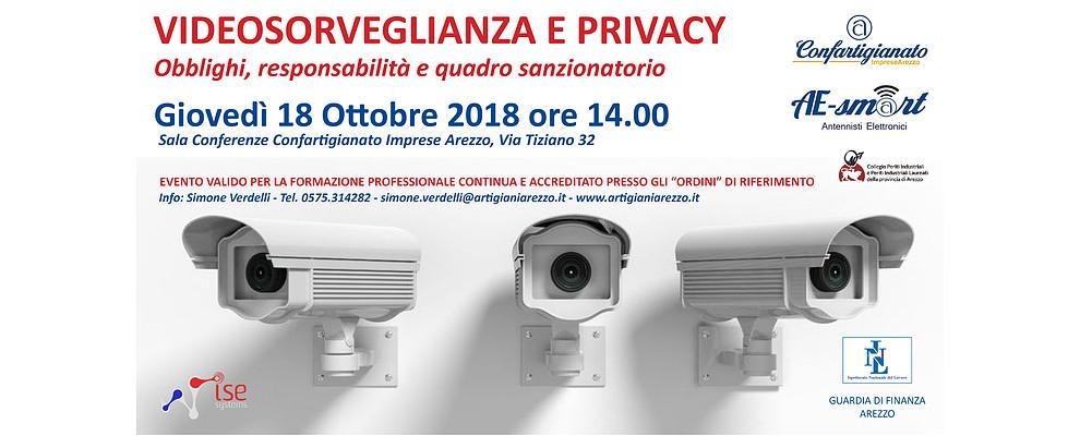 Videosorveglianza e Privacy. Il 18/10 Stati Generali tra PMI, Periti, Ispettorato e GDF