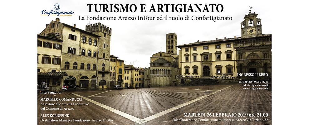 Turismo e Artigianato. Confartigianato incontra i vertici della Fondazione Arezzo InTour