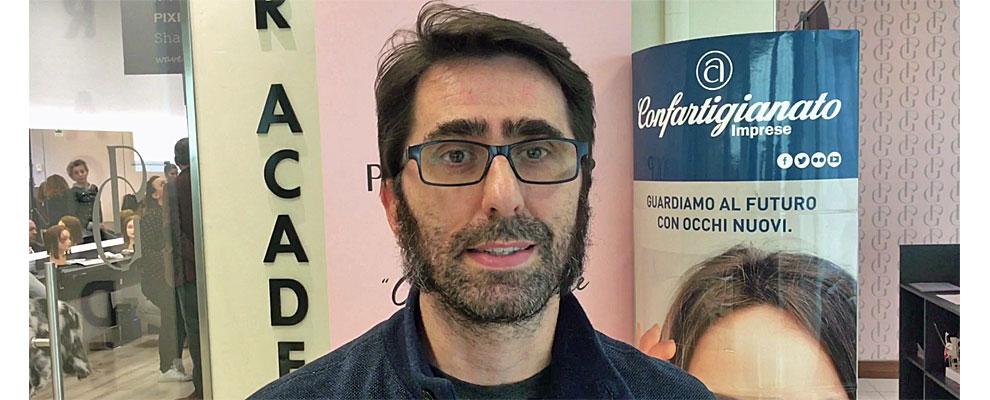 Acconciatori Estetiste. Fabrizio Tacconi e Manuela Boncompagni presentano l'accordo con Perini Group