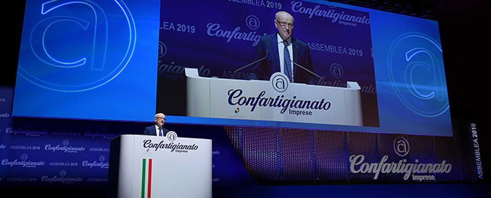 """Assemblea 2019. Il Presidente Merletti al Governo """"Sì agli investimenti e al reddito da lavoro"""""""