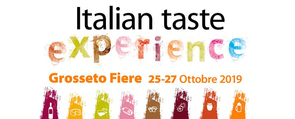 Confartigianato ad Italian Taste Experience in programma a Grosseto Fiere dal 25 al 27/10