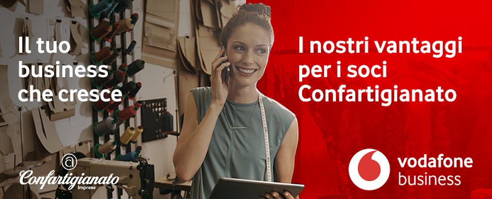 Accordo Confartigianato e Vodafone per migliorare il business delle PMI
