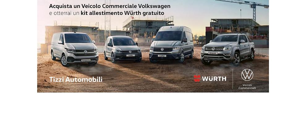 Acquisto veicoli commerciali Volkswagen. Offerta per i Soci di Confartigianato