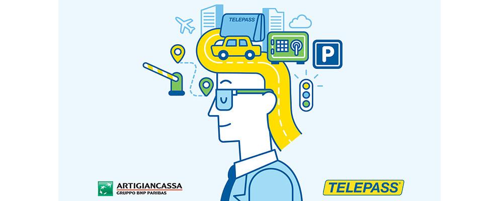 Con Telepass X Biz risparmi e semplifichi la mobilità della tua Impresa