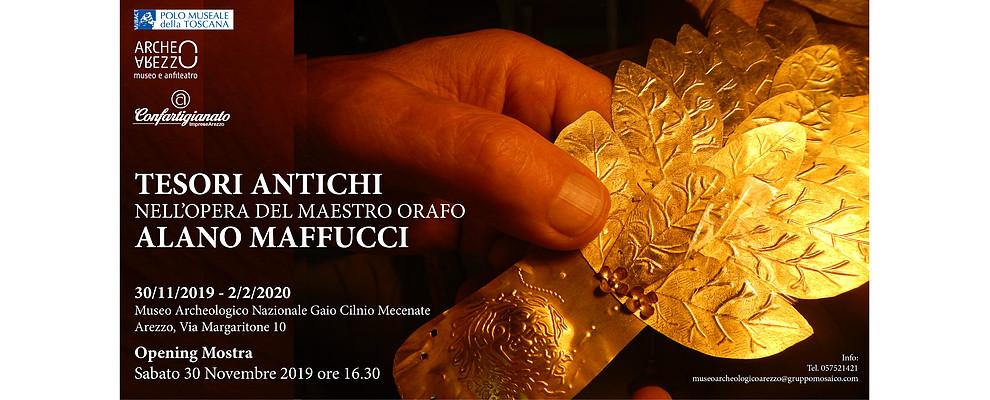 I tesori antichi nell'opera di Alano Maffucci in Mostra al Museo Archeologico