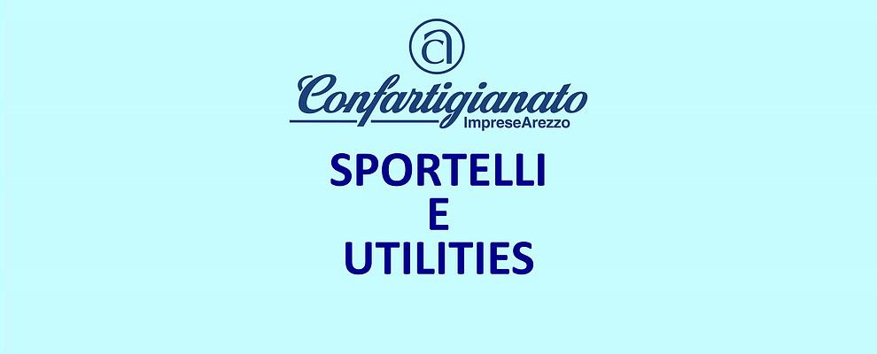 SPORTELLI E UTILITIES. Gas Luce Telefonia Convenzioni e consulenza avanzata con un click