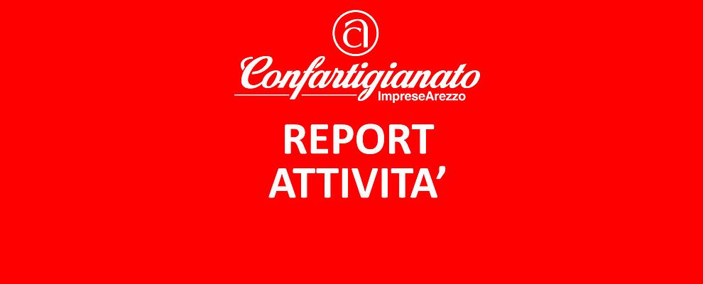 REPORT ATTIVITA'. Le iniziative di Confartigianato