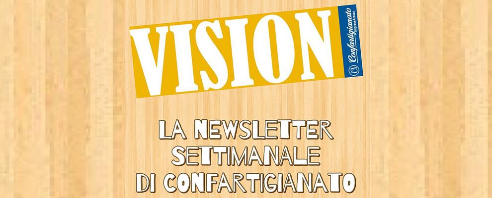 VISION WEB. La Newsletter di Confartigianato torna il 6 Settembre !