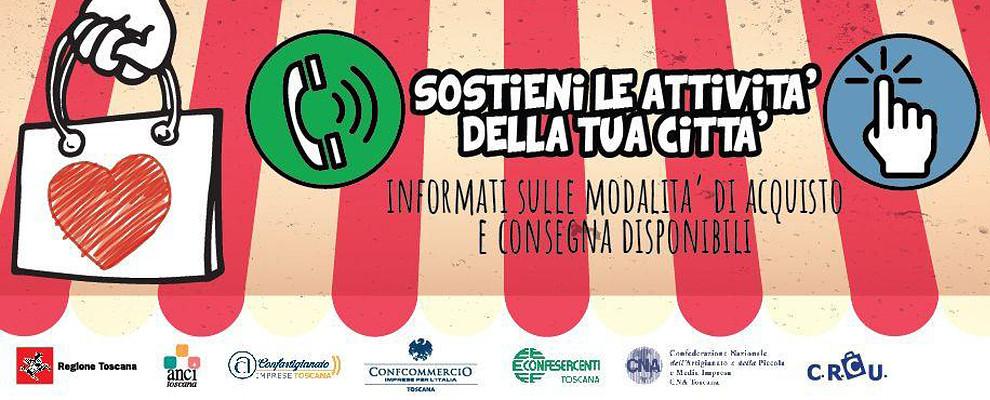 VICINOCONVIENE. Al via in Toscana la campagna per sostenere le attività del territorio