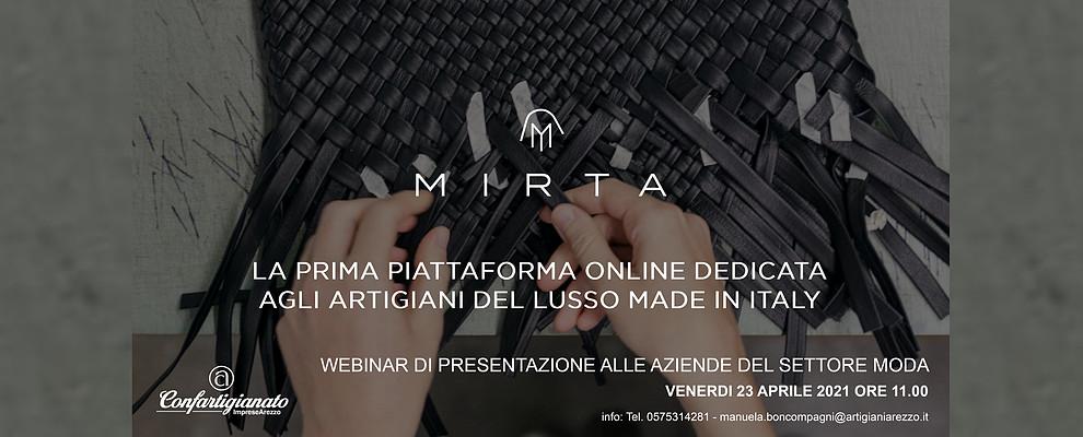 MIRTA e Confartigianato Moda presentano la piattaforma del lusso Made in Italy