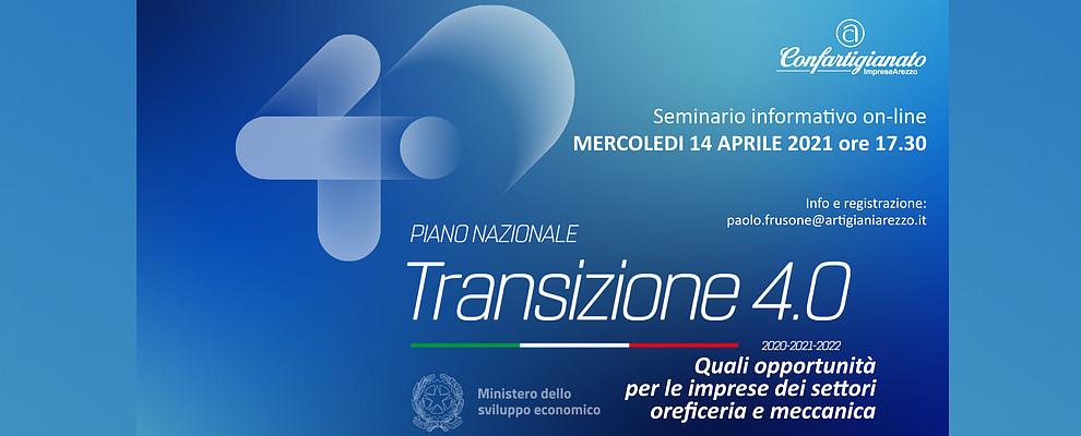 La nuova Transizione 4.0. Quali opportunità per le imprese dei settori oreficeria e meccanica
