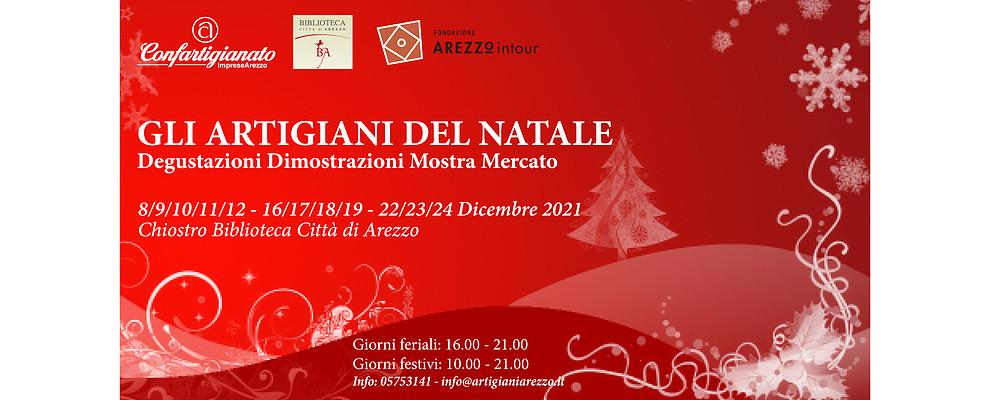 Gli Artigiani di Confartigianato protagonisti della Città del Natale ad Arezzo